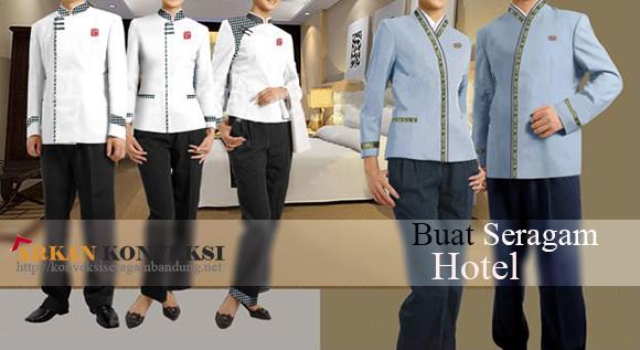 buat seragam hotel