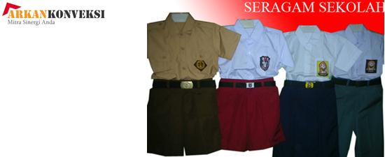 contoh seragam sekolah