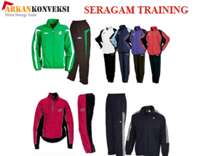seragam training 278