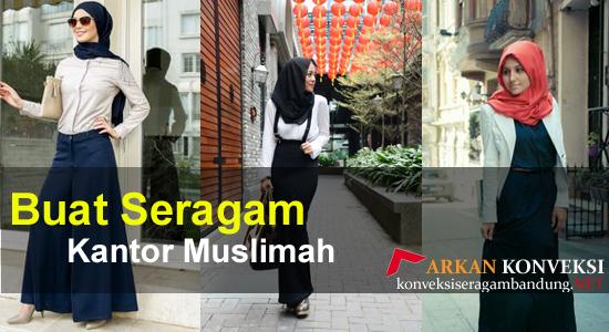 seragam kantor muslimah